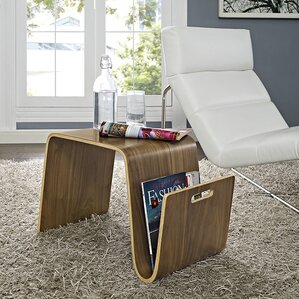 Polaris Coffee Table with Magazine Rack by M..