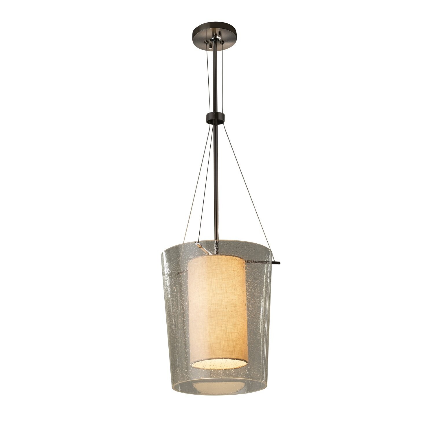 Brayden Studio Kenyon 1 Light Single Drum Pendant Wayfair
