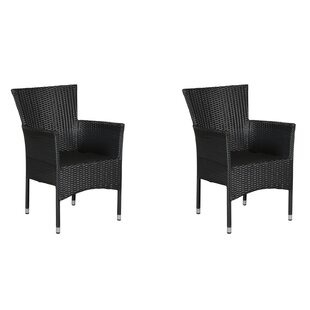 Maxey Stacking Garden Chair (Set Of 2) Image