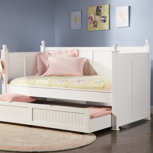 Reviews Pennrock Central Point Twin Daybed with Trundle by Beachcrest Home Reviews (2019) & Buyer's Guide