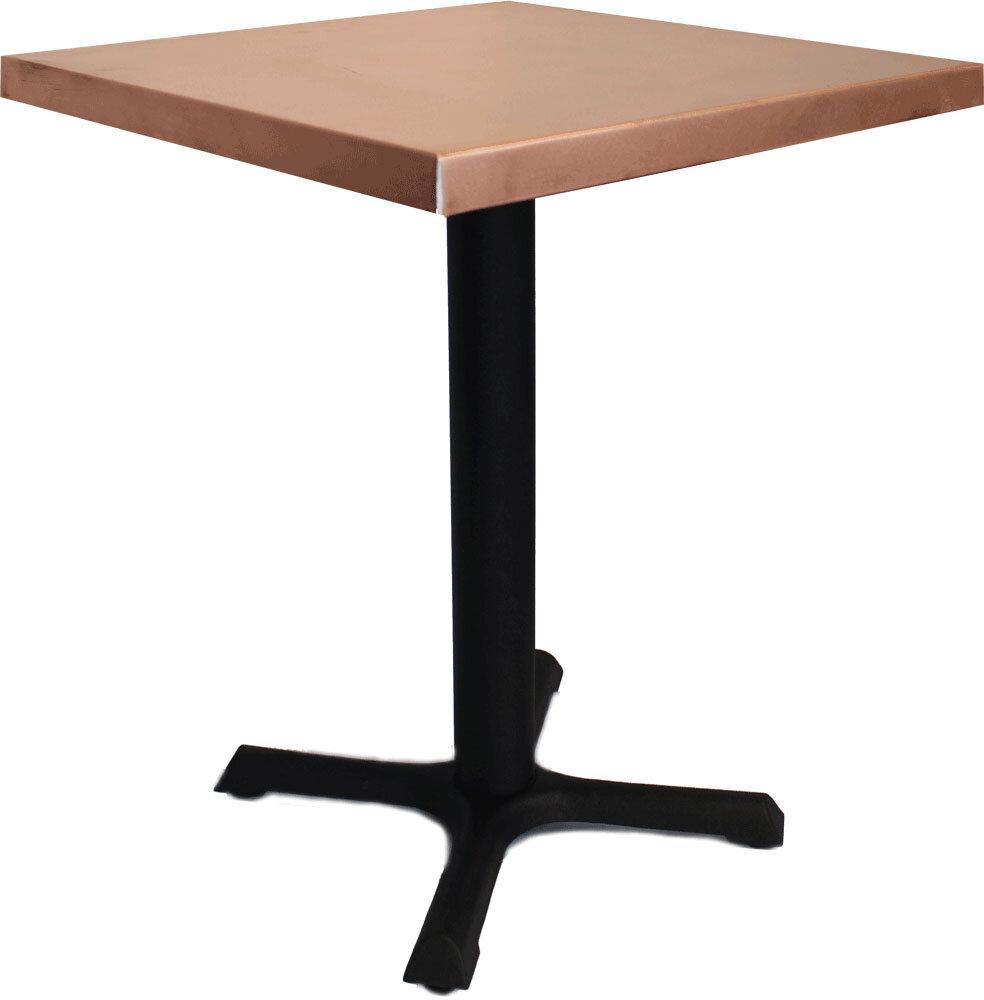 mio metals 24 x 30 dining table  u0026 reviews   wayfair  rh   wayfair com