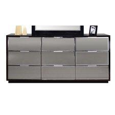 Mera 9 Drawer Standard Dresser by Sharelle Furnishings