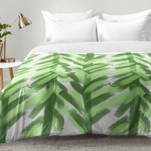 East Urban Home Greenery Forest Comforter Set