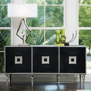 Global Views Draw Attention Artisan TV Stand for TVs up to 70
