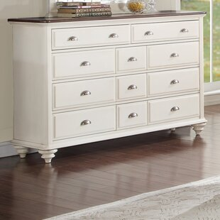 Rosecliff Heights Sandhill 11 Drawer Standard Dresser