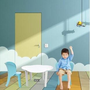Reviews Eggleston Elephant Inspirational Children's Chair (Set of 4) ByHarriet Bee