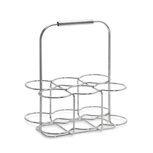 Wires 6 Bottle Tabletop Wine Rack by Blomus