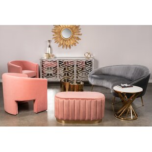 Tincher Curved Standard Configurable Living Room Set By Everly Quinn