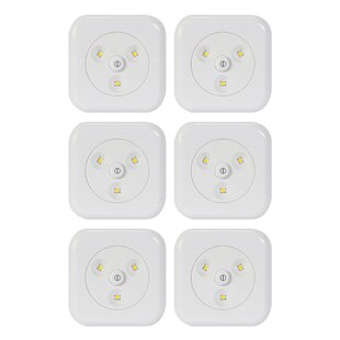 Buy luxury LED Under Cabinet Puck Light (Set of 6) By Globe Electric Company