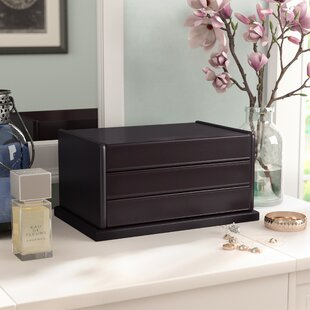 Great choice Rectangle Jewelry Box ByDarby Home Co