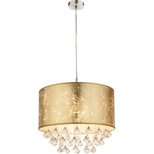 Borlon 1-Light Drum Pendant by Mercer41