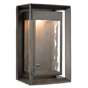 Laurel Foundry Modern Farmhouse Zelma 1-Light Outdoor Flush Mount
