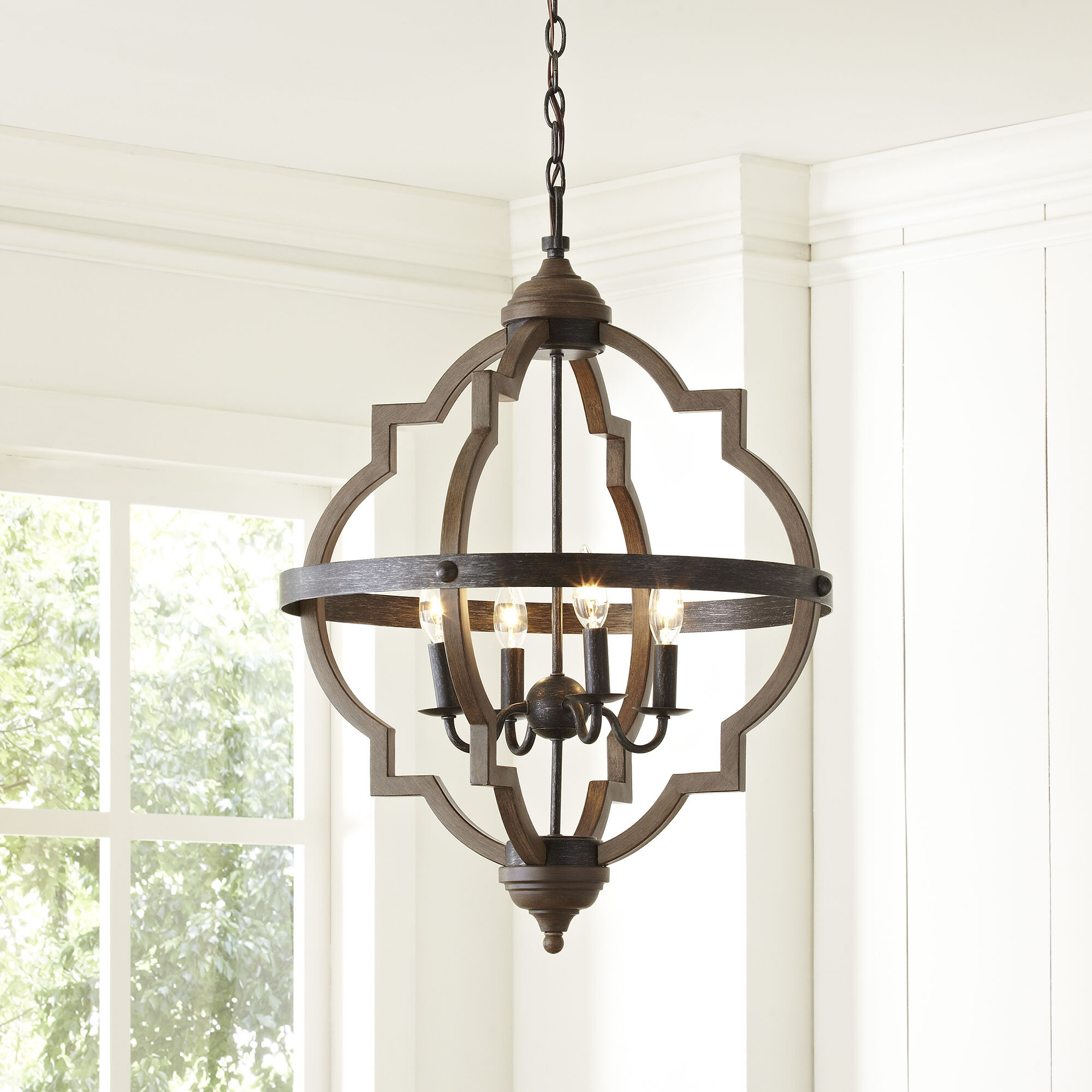 Chandeliers youll love wayfair bennington candle style chandelier aloadofball Gallery
