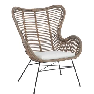 Presley Wingback Chair By Bay Isle Home