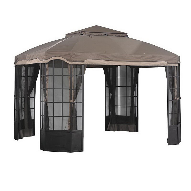 Cool Sears Bay Window Gazebo Replacement Canopy Interior Design Ideas Oxytryabchikinfo
