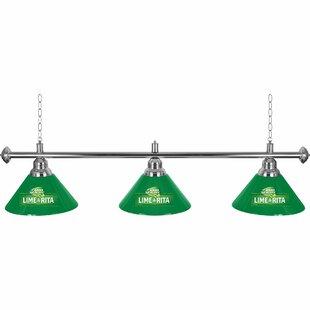 Trademark Global Bud Light Lime-A-Rita 3-Light Billiard Light