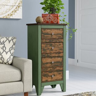 Check Prices Devereaux 4 Drawer Accent Chest ByBungalow Rose
