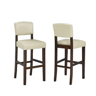 Schreffler 24 Bar Stool (Set of 2) by Cha..
