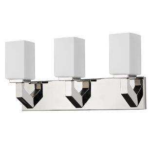 Ebern Designs Mcgary 3-Light Vanity Light