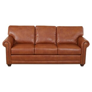 Klaussner Furniture Shelby Leather Sofa