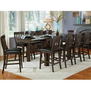 Alder 11 Piece Dining Set by Loon Peak