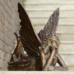 Fairy At Rest Garden Statue