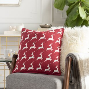 Dunphy Cotton Throw Pillow Cover