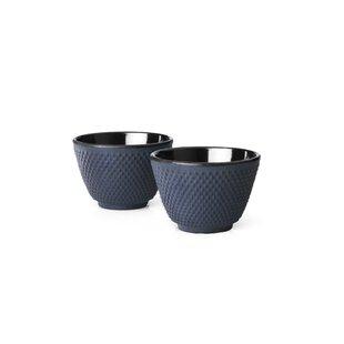 Xilin Cast Iron Tea Mugs (Set of 2)