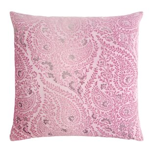 Henna Velvet Throw Pillow