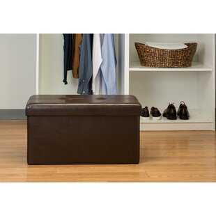 Compare prices Ridgedale Storage Ottoman By Andover Mills