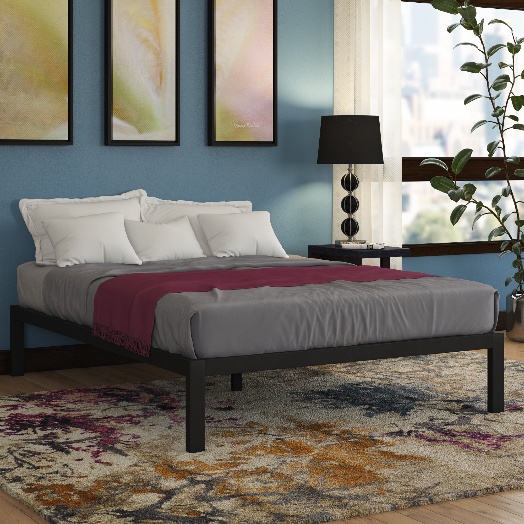 files bed with platform for size the black matte trend metal style and headboard best bedspreads uncategorized frame queen