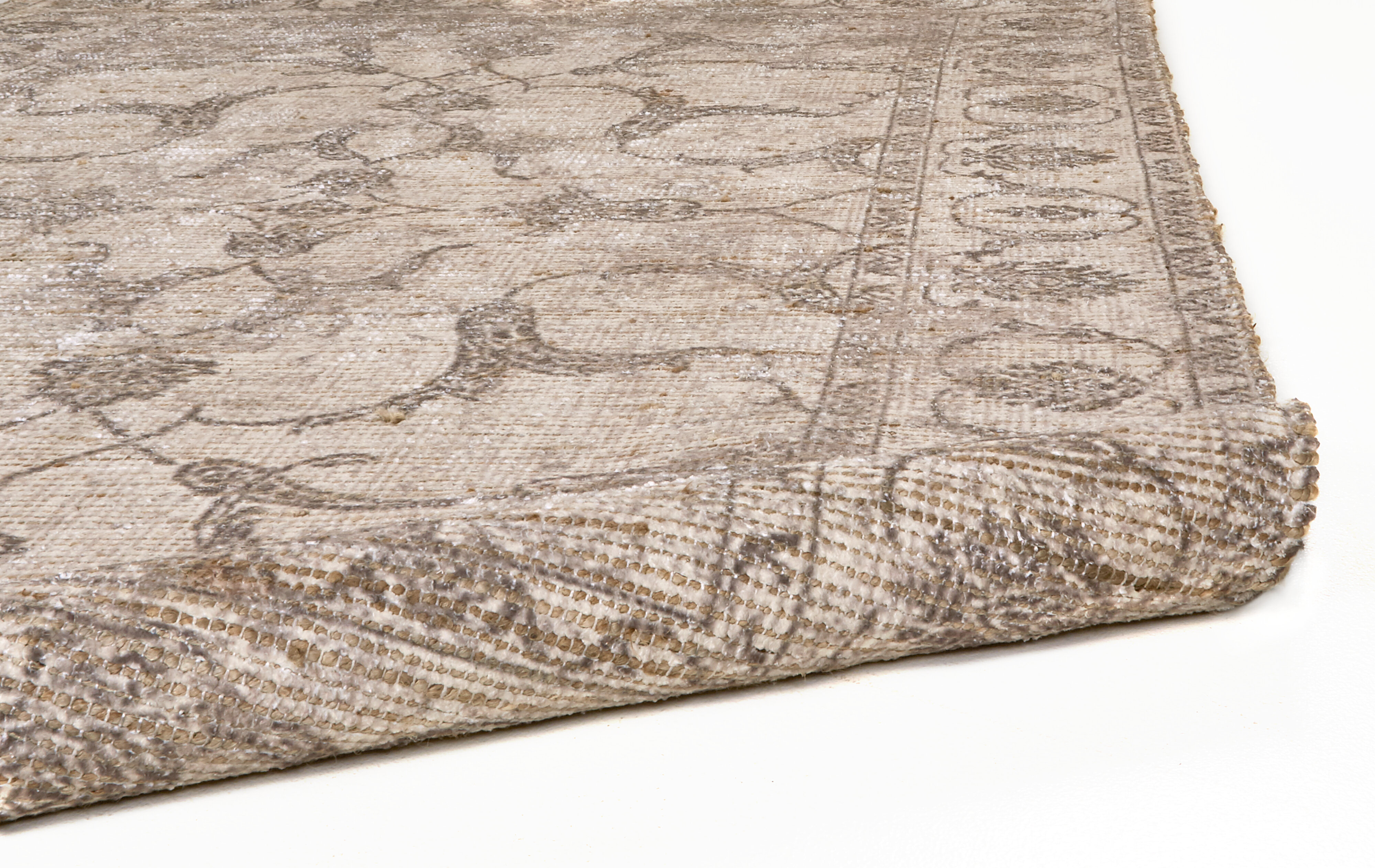 Charlton Home Adymn Oriental Hand Knotted Beige Ivory Area Rug Wayfair