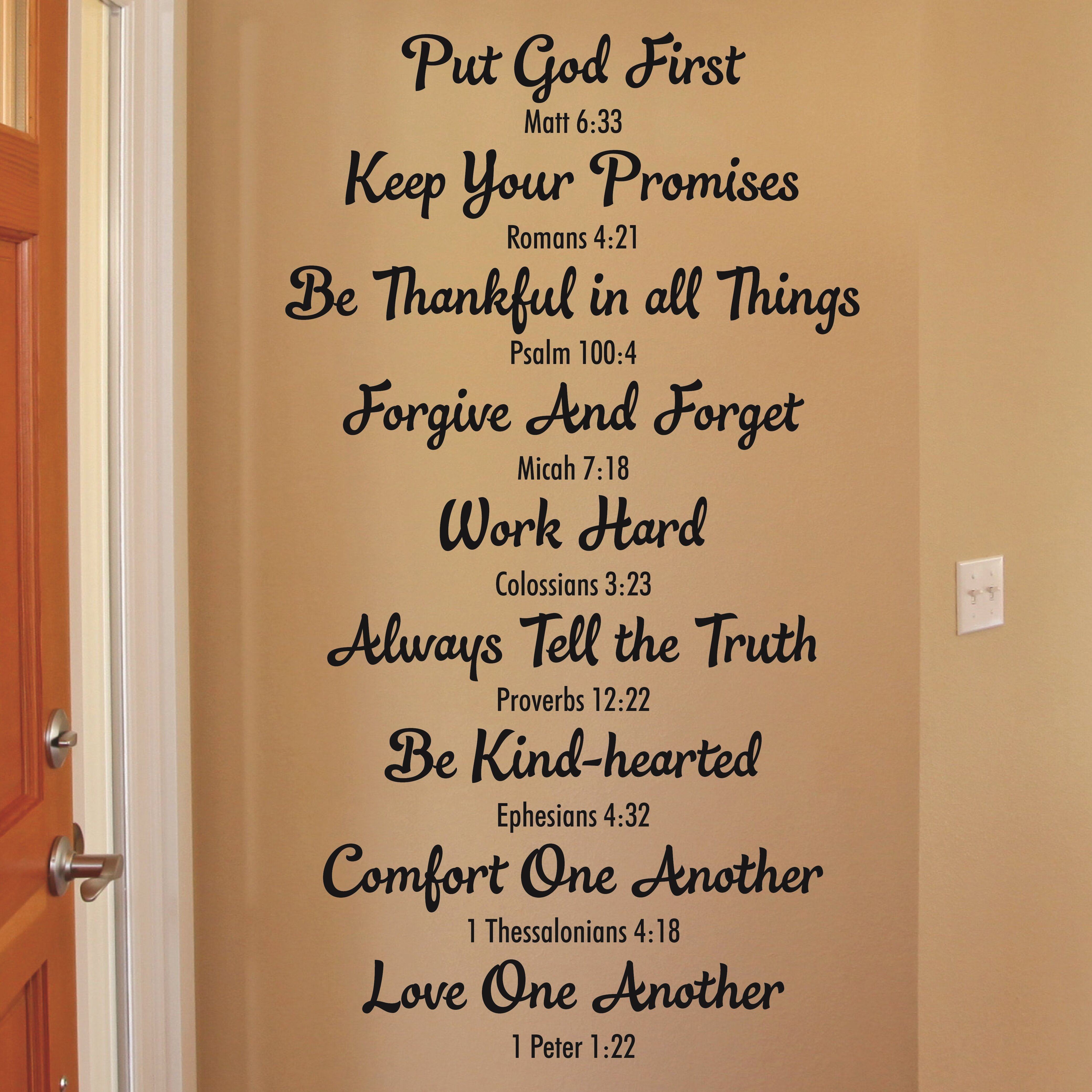 Be your Own Kind of Beautiful Wall Art Sticker Quote 3 sizes Bedroom wall 106