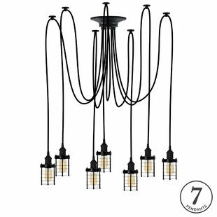 Ian 7-Light Cluster Pendant by 17 Stories