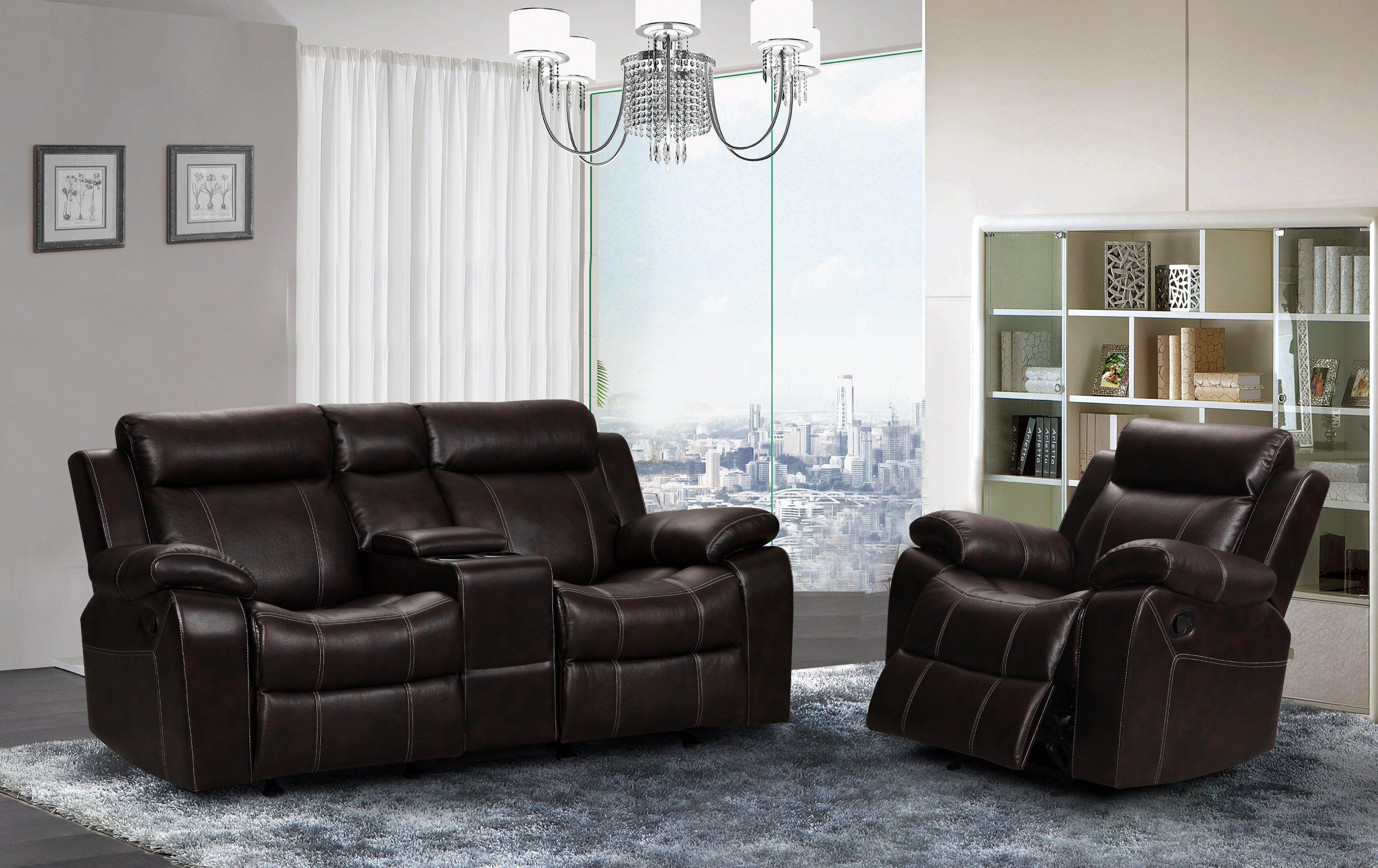 Red Barrel Studio Manan 2 Piece Reclining Living Room Set Wayfair Ca