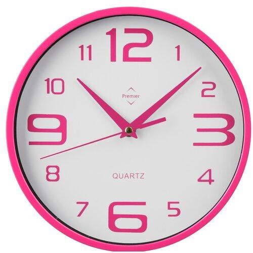 Wanduhr | Dekoration > Uhren > Wanduhren | Pink | All Home