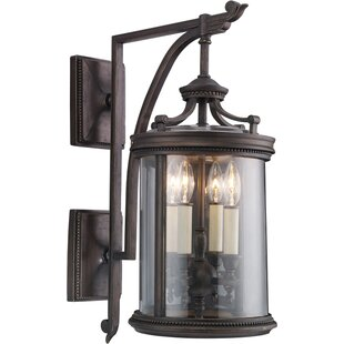 Read Reviews Louvre 4-Light Outdoor Wall Lantern By Fine Art Lamps