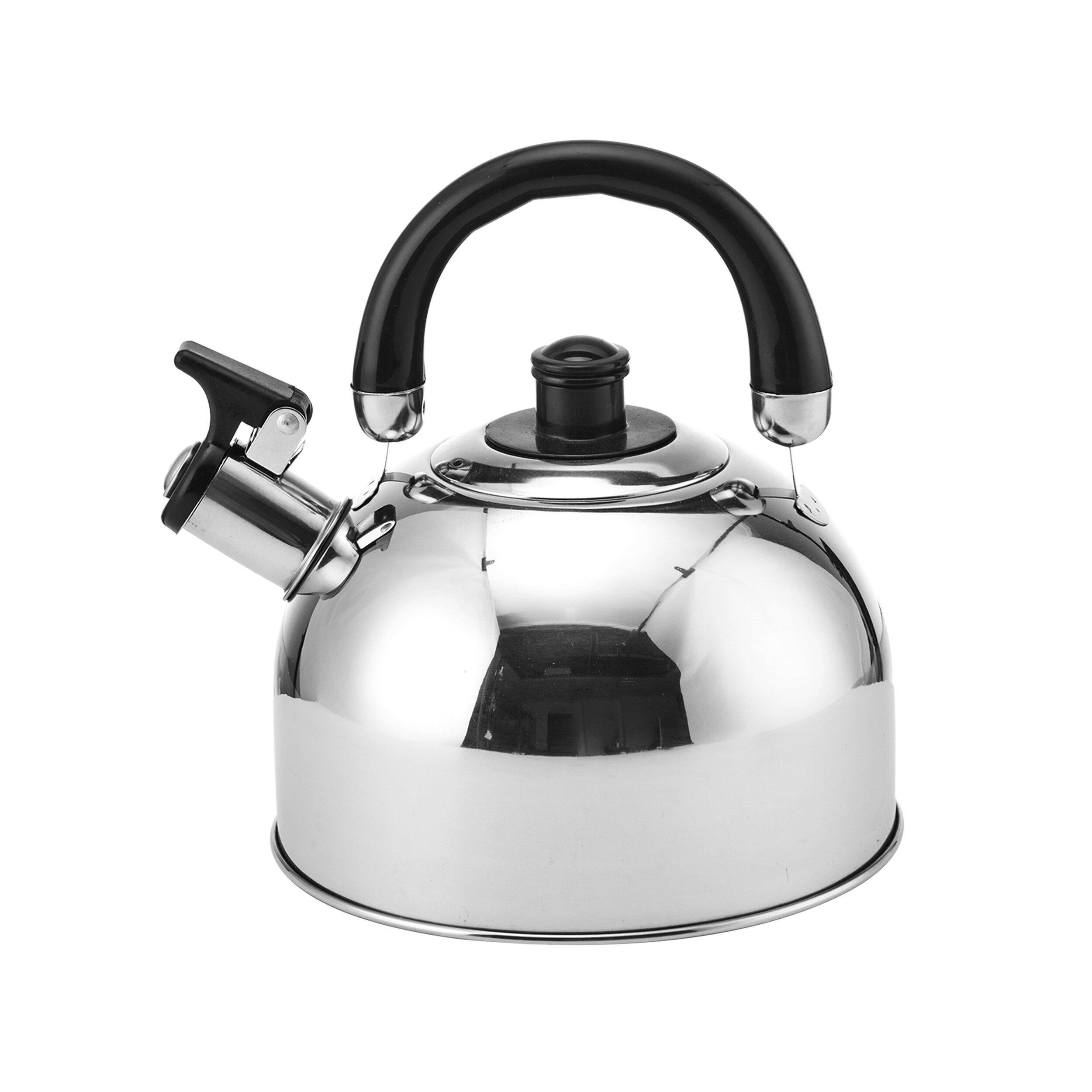 Top Quality Kettle with A Whistle Made of High Quality Stainless Steel Black Marble