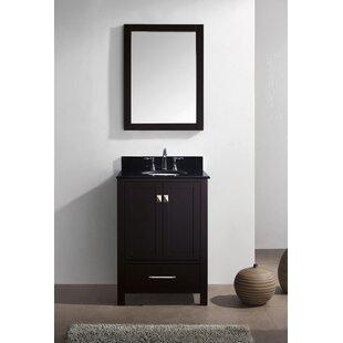 Serigne 24 Single Bathroom Vanity Set with Mirror ByWilla Arlo Interiors