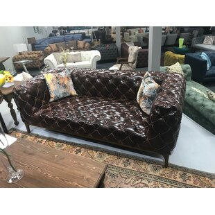 Chilson Chesterfield Loveseat by 17 Stories