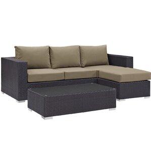 ryele 3 piece deep seating group with cushion