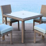 Spero  Glass  Dining Table