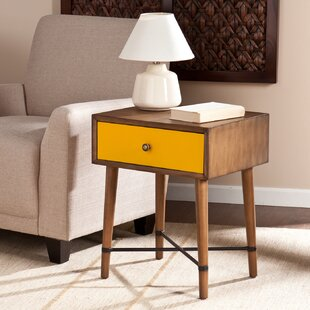 Rashee End Table With Storage ..