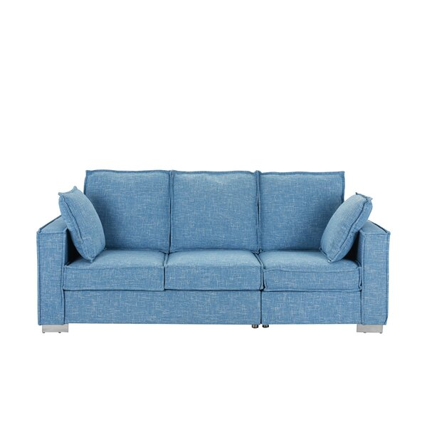 Modern Fabric Sofa | Wayfair