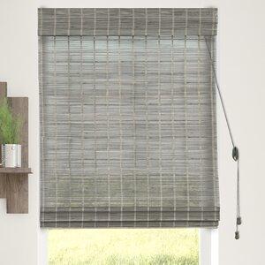 Bamboo Textured Semi-Sheer Roman Shade