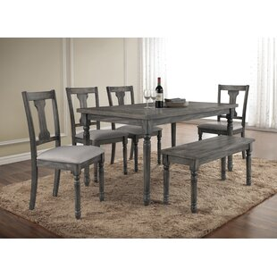 Parkland 6 Piece Dining Set by Lark Manor