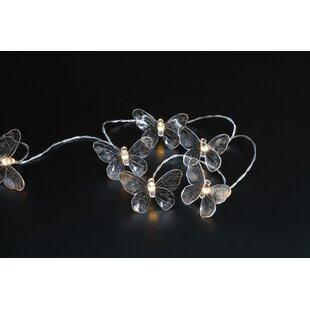 Ridley Butterfly Novelty String Lights By August Grove