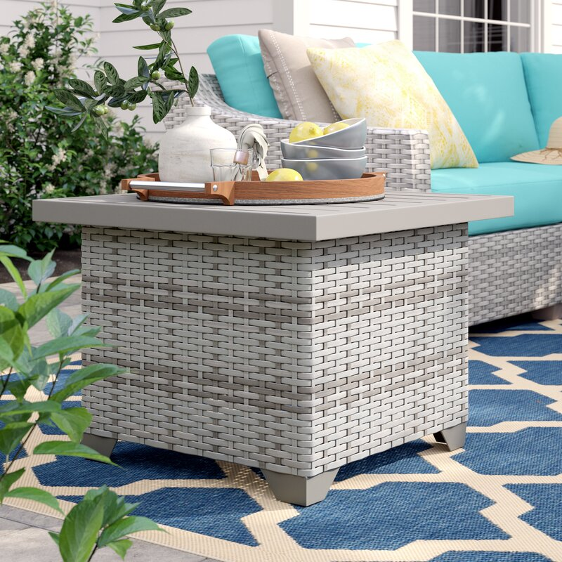 Sol 72 Outdoor Falmouth Side Table Reviews Wayfair