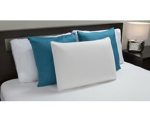 Bed Memory Foam Standard Pillow (Set of 2)