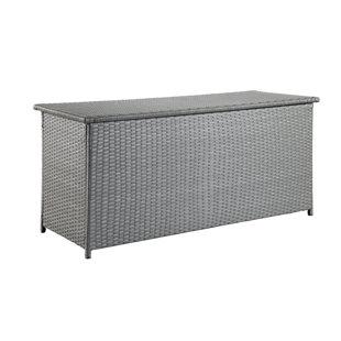 Dorian 134 Gallon Wicker Deck Box